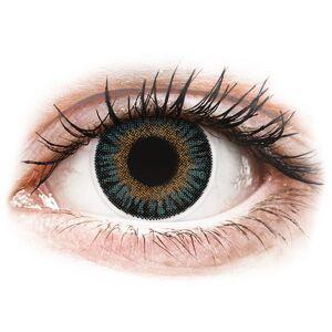 Blue 3 Tones contact lenses - power - ColourVue
