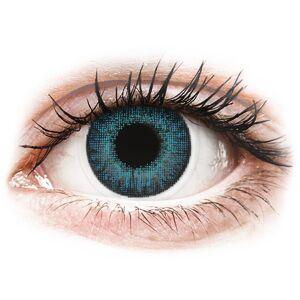 Brilliant Blue contact lenses - natural effect - power - Air Optix