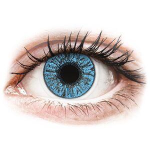 Sapphire Blue contact lenses - FreshLook Colors