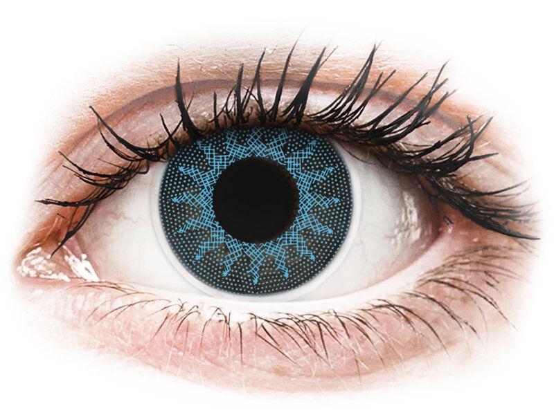 Solar Blue contact lenses - ColourVue Crazy