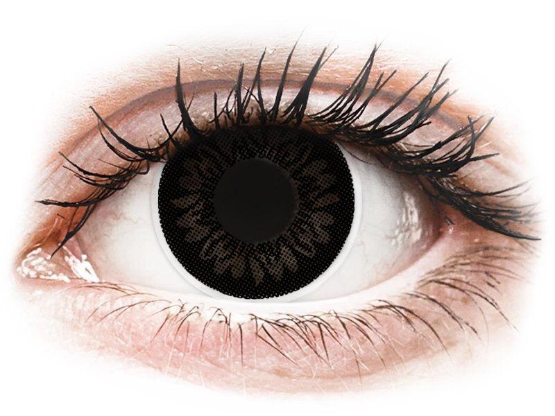 Dolly Black contact lenses - power - ColourVue BigEyes