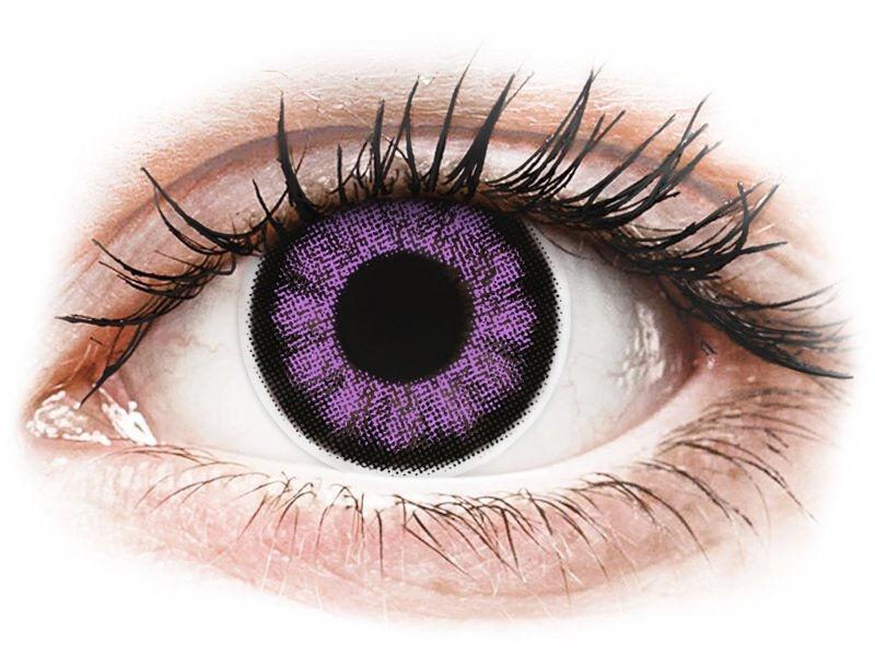 Ultra Violet contact lenses - ColourVue BigEyes
