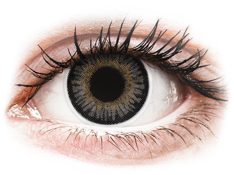 Grey 3 Tones contact lenses - power - ColourVue