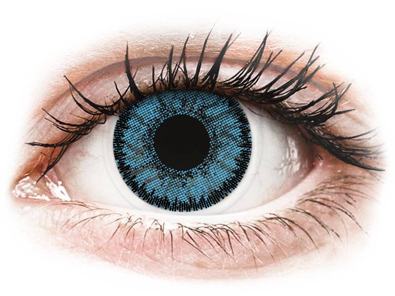 Blue Pacific contact lenses - SofLens Natural Colors - Power