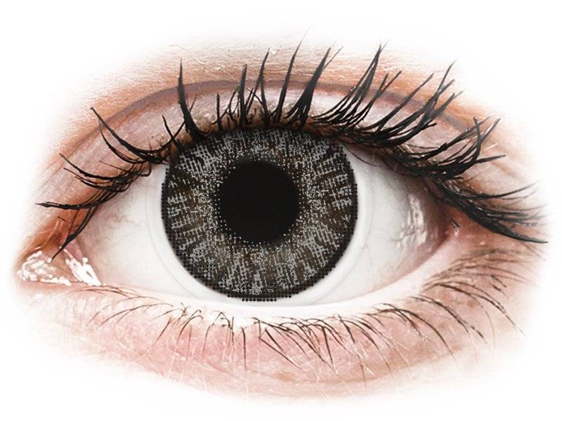 Sterling Gray contact lenses - FreshLook ColorBlends - Power