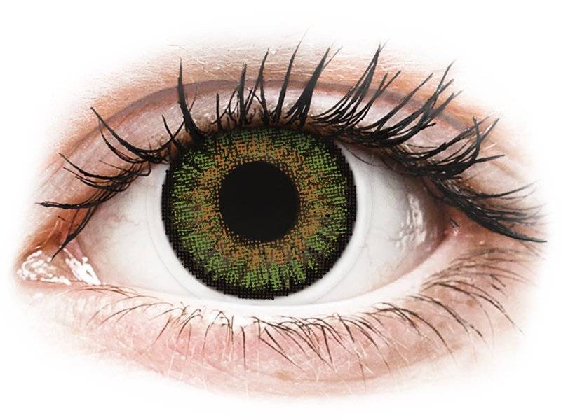 Green contact lenses - FreshLook One Day Color