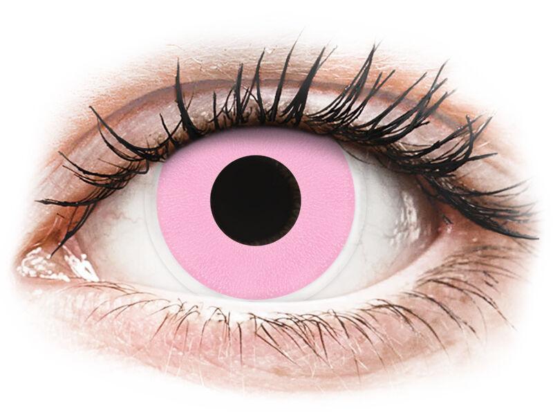 ColourVUE Crazy Lens - Barbie Pink - plano