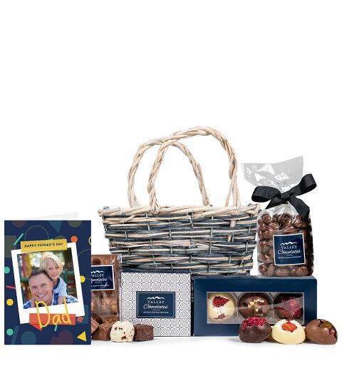 Prestige Hampers Chocoholic with Card Hamper - Gift Basket - Prestige Hampers