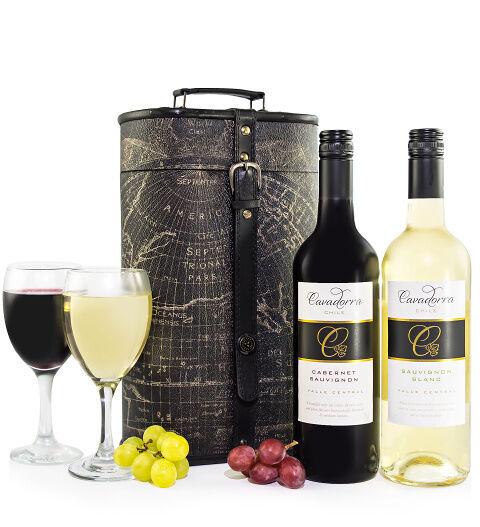 Prestige Hampers Chilean Wine Pair Hamper - Gift Basket - Prestige Hampers