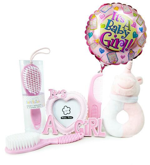 Prestige Hampers Beautiful Baby Girl - Baby Girl Hampers - Baby Girl Gifts - New Baby Gifts - New Baby Girl Hampers