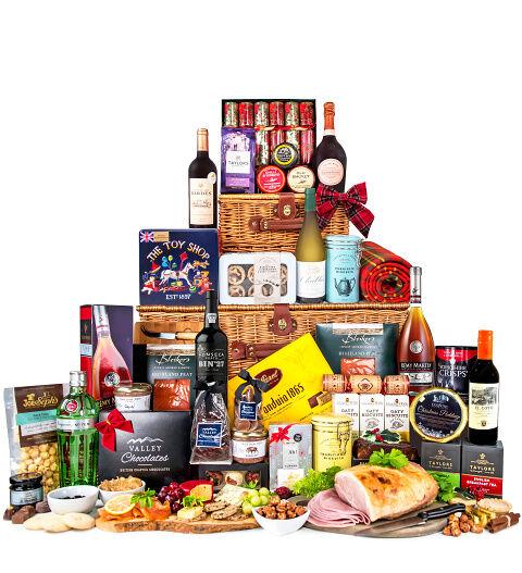 Prestige Hampers The Prestige Tower - Luxury Christmas Hampers - Christmas Food Hampers - Family Christmas Hampers - Christmas Food Hamper Delivery - Luxury Xmas Hampers