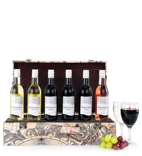 Prestige Hampers World Wine Case Hamper - Gift Basket - Prestige Hampers