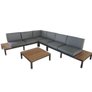 Royal Craft Royalcraft Garden Furniture Aspen 6 Seat Modular Set