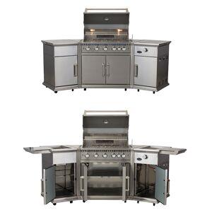 Lifestyle Appliances Bahama Island Stainless Steel Gas BBQ Island