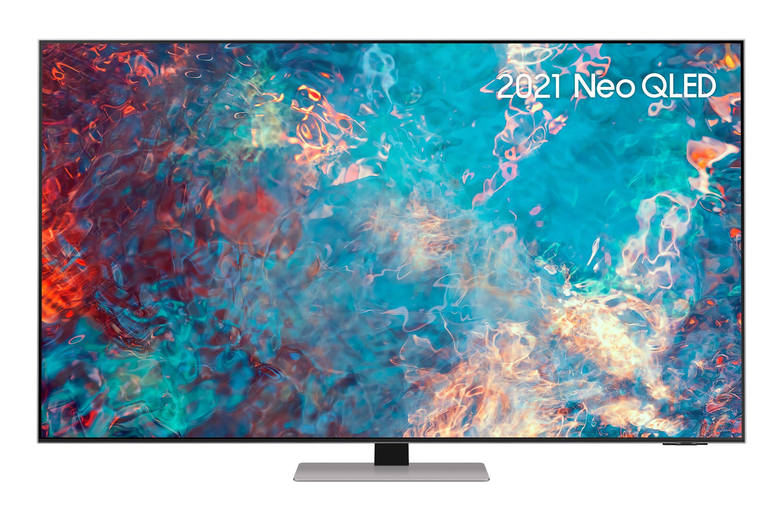 "Samsung 65"" QN85A Neo QLED 4K HDR Smart TV (2021) in Silver (QE65QN85AATXXU)"
