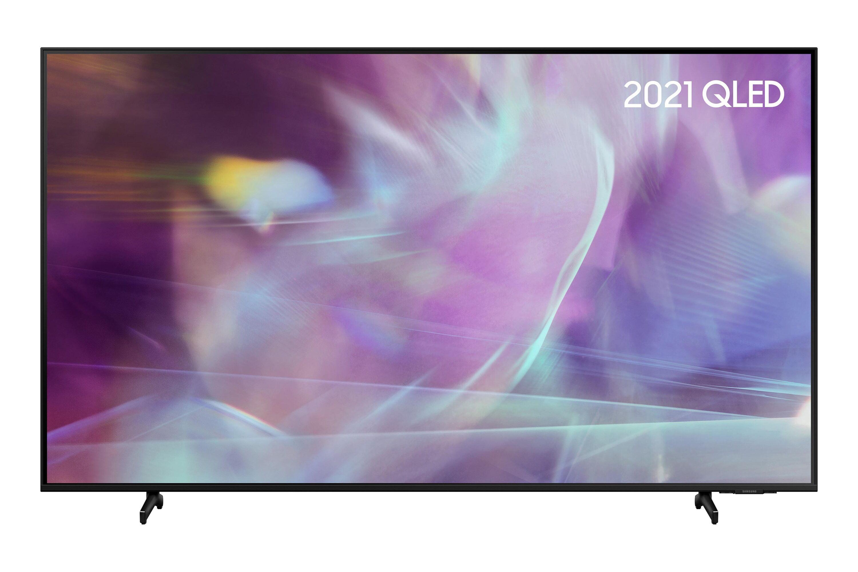 "Samsung 2021 85"" Q60A QLED 4K HDR Smart TV in Black (QE85Q60AAUXXU)"