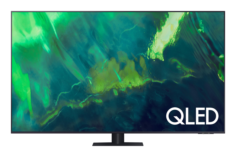 """Samsung 85"""" Q70A QLED 4K HDR Smart TV (2021) in Grey (QE85Q70AATXXU)"""