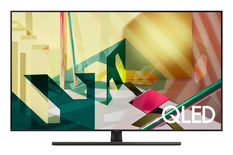 "Samsung 2020 75"" Q70T QLED 4K Quantum HDR Smart TV with Tizen OS Black (QE75Q70TATXXU)"
