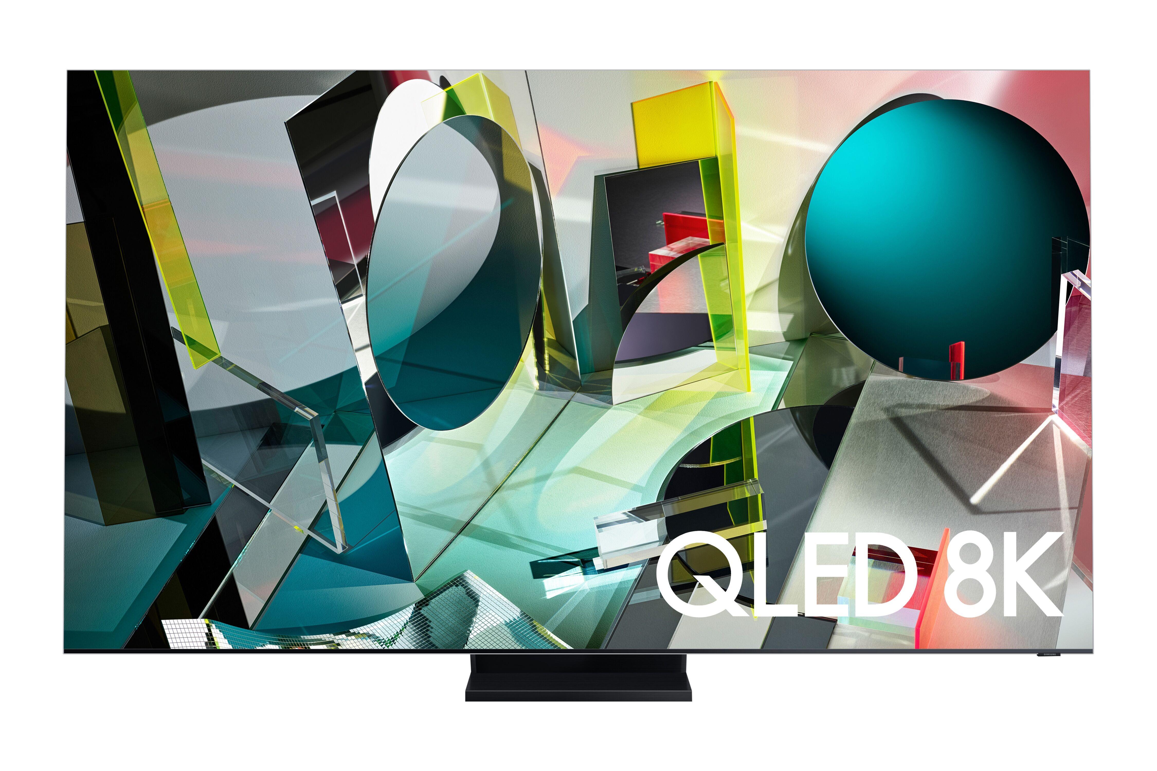 """Samsung 2020 75"""" Q950TS Flagship QLED 8K HDR 4000 [3000] Smart TV with Tizen OS Black (QE75Q950TSTXXU)"""