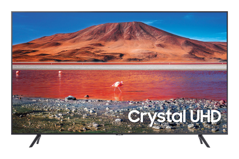 "Samsung 65"" 4K TV TU7100 HDR with Tizen OS Smart TV in Silver (UE65TU7100KXXU)"