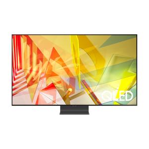 """Samsung 2020 65"""" Q95T QLED 4K HDR 2000 Flagship Smart TV with Tizen OS Silver (QE65Q95TATXXU)"""