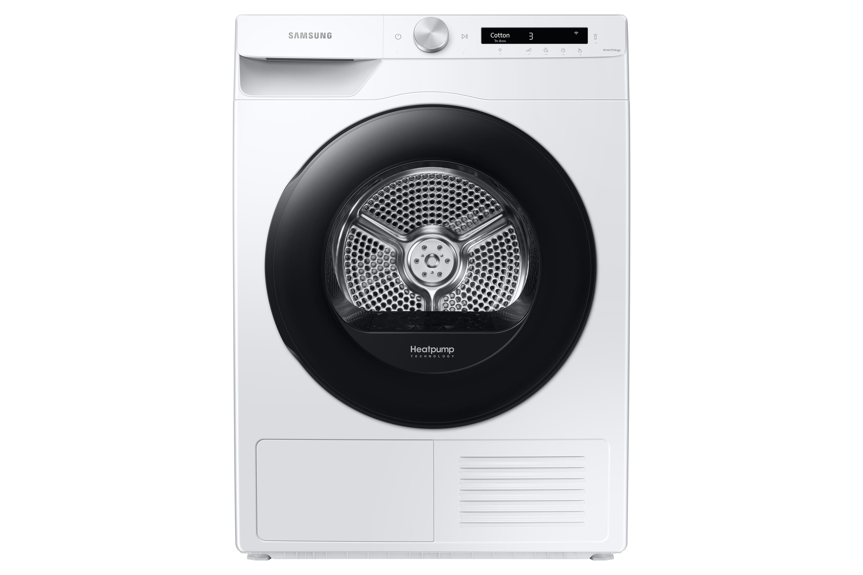 Samsung DV5000 Heat Pump Tumble Dryer A+++ 9kg in White (DV90T5240AW/S1)