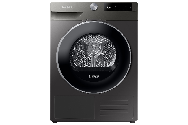 Samsung DV6000 Heat Pump Tumble Dryer A+++, 9kg in Silver (DV90T6240LN/S1)