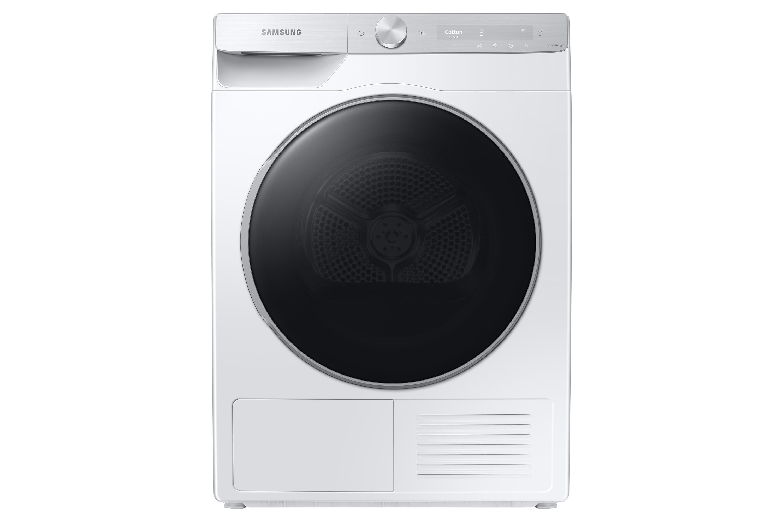 Samsung DV8000 Heat Pump 9kg Tumble Dryer A+++ in White (DV90T8240SH/S1)