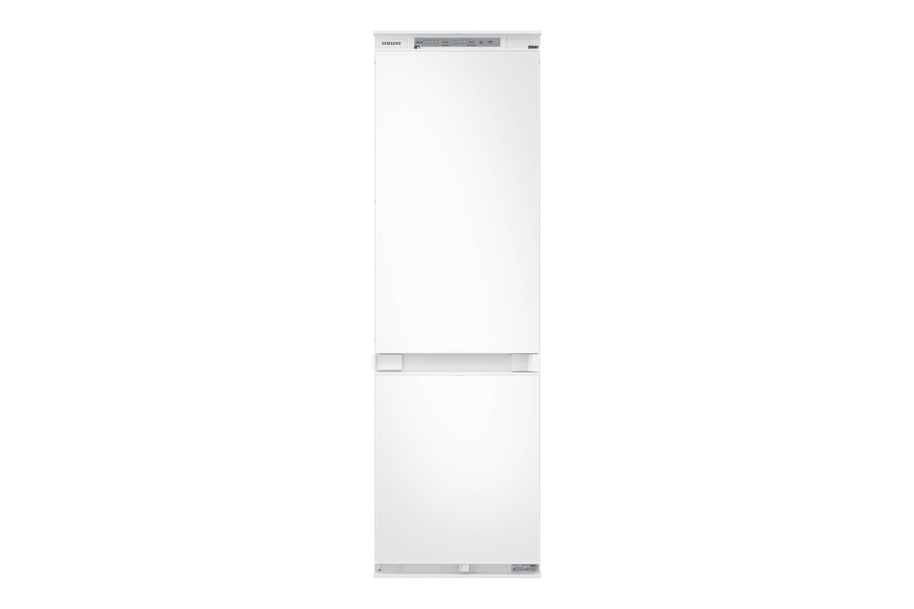 Samsung Integrated Fridge Freezer with No Frost, Slide Hinge in White (BRB26600FWW/EU)