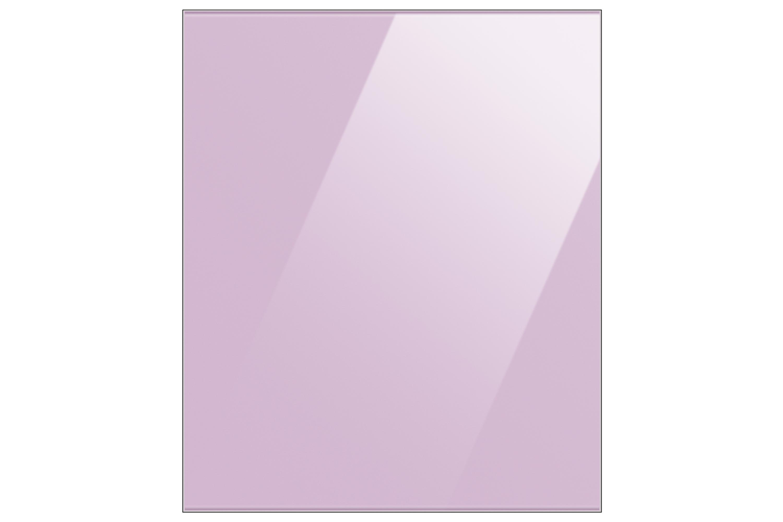 Samsung Bespoke Glass Bottom Panel for 1.85m Fridge freezer in Glam Lavender (RA-B23EBB38GG)