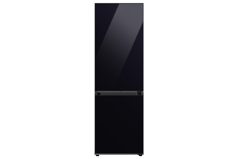 Samsung Bespoke 1.85m Fridge Freezer (Glass) in Black (RB34A6B2E22/EU)