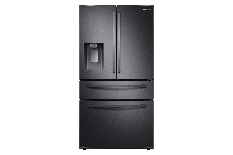 Samsung AW4 French Style Fridge Freezer with FlexZone™ in Black (RF24R7201B1/EU)