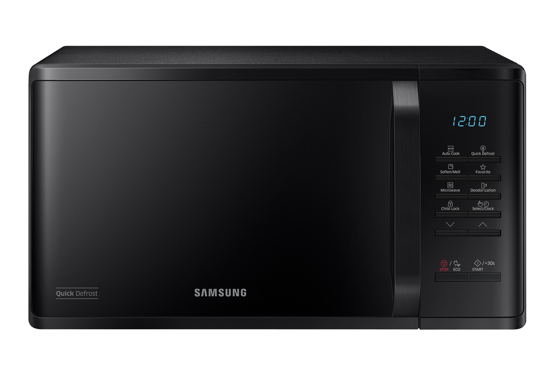 Samsung 1150W Microwave Oven 23L Black (MS23K3513AK/EU)