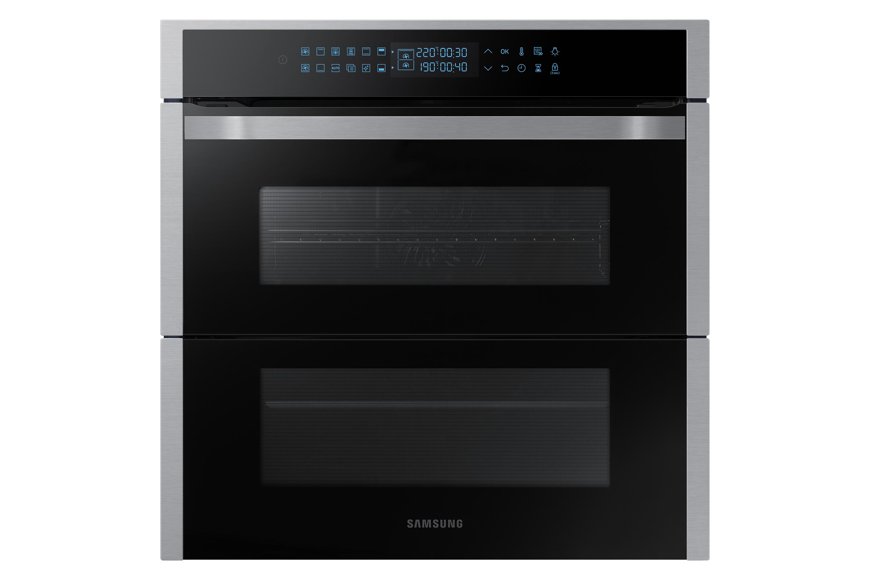 Samsung Dual Cook Flex Oven NV75R7676RS/EU Silver