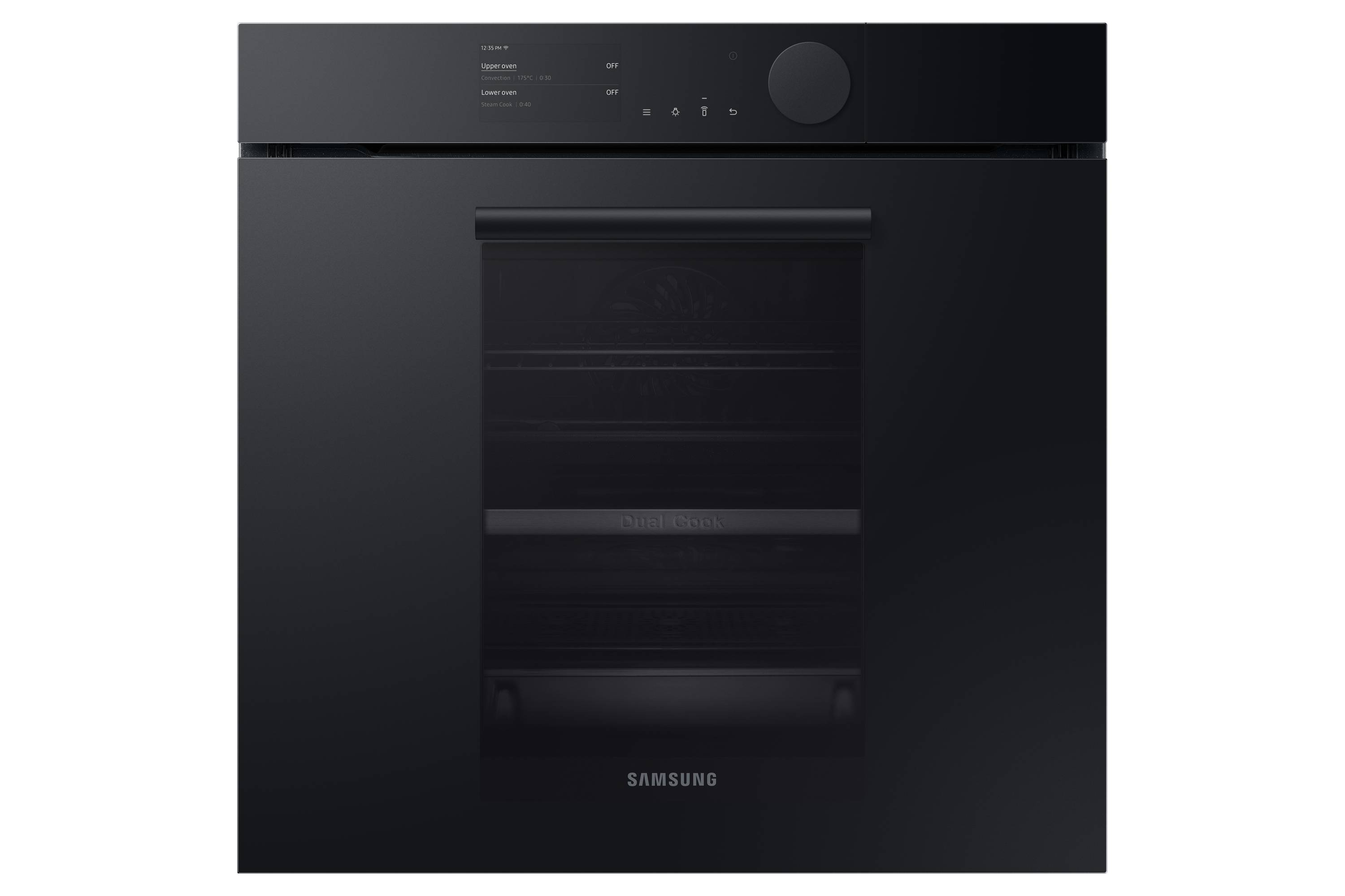 Samsung Infinite Range Oven with Dual Cook Steam NV75T9979CD/EU in Black