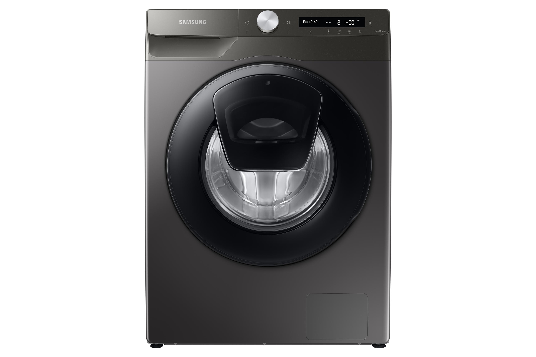 Samsung WW5500 8kg Washing Machine with AddWash 1400rpm in Silver (WW80T554DAN/S1)