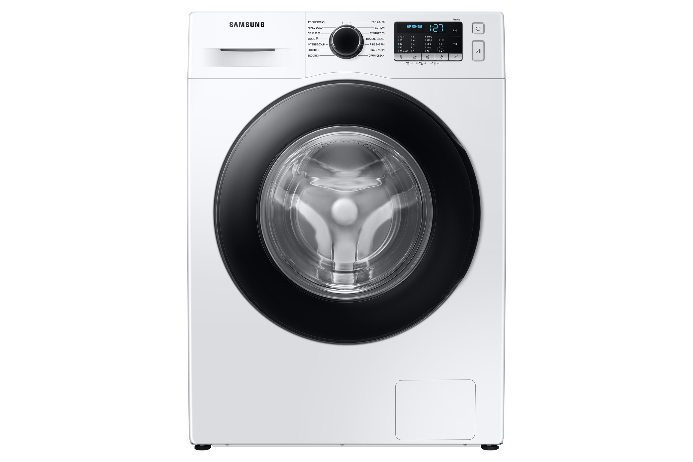 Samsung WW5000 Washing Machine with ecobubble 8kg 1400rpm in White (WW80TA046AE/EU)
