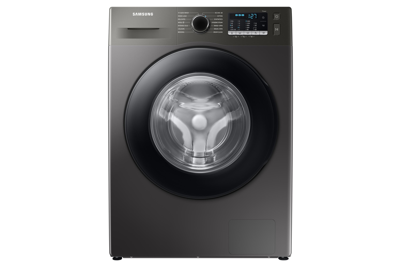 Samsung WW5000 Washing Machine with ecobubble 8kg 1400rpm in Silver (WW80TA046AX/EU)