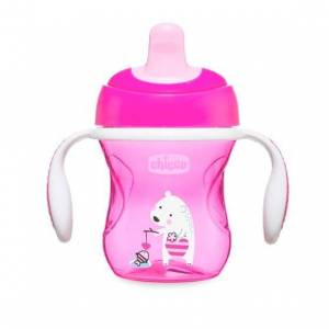 CHICCO CUP LEARNING GIRL 6M +
