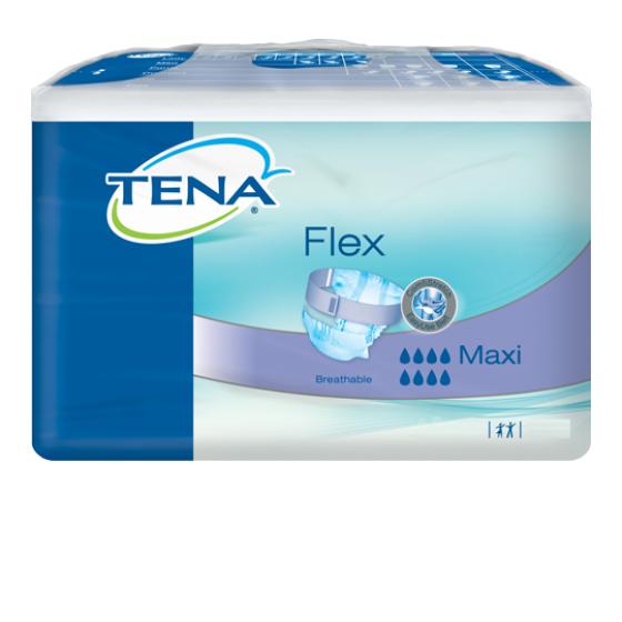 TENA FLEX MAXI DIAPER LARGE X22