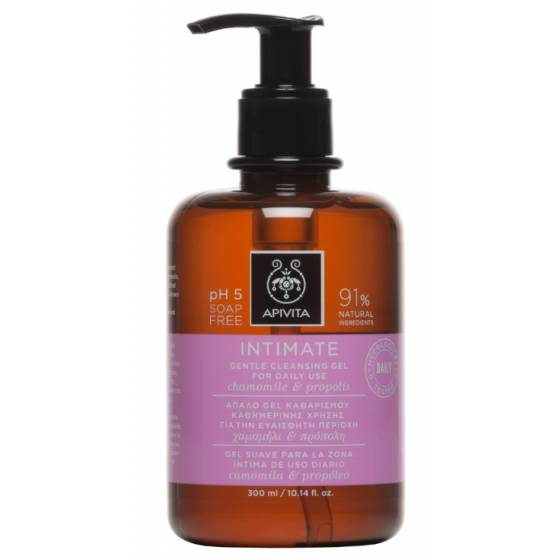 Apivita INTIMATE GIVES DAILY CLEANING GEL 300ML
