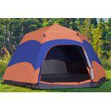 Mhstar Uk Ltd Pop-Up 6 Person Camping Tent