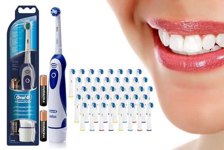 ViVo Technologies Braun Oral-B Advance Power Toothbrush & 41 Brush Heads