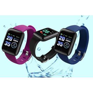 Bellap Ltd 19-in-1 Fitness Tracker Watch - Blue   Wowcher