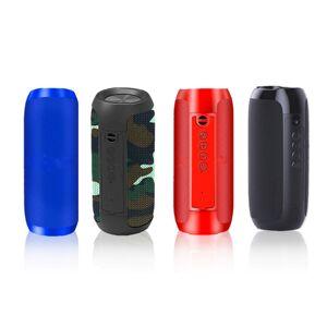 Groundlevel.co.uk Portable Bluetooth Speaker - Camo, Black, Blue or Red!