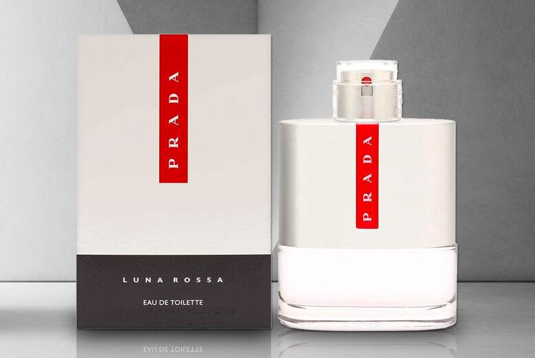 Fulfilled by Wowcher £30.99 for a 50ml Prada Luna Rossa EDT, £38.99 for a 100ml bottle, £48.99 for a 150ml bottle - save up to 42%