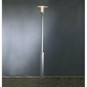 Konstsmide Nova Single Light  Outdoor Post Light In Aluminium Finish W