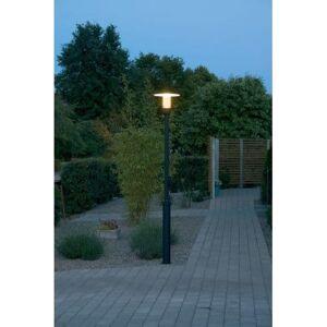 Konstsmide Nova Single Light Outdoor Post Light In Matt Black Finish W