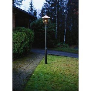 Konstsmide Fenix Single Light Outdoor Post Lantern In Copper Finish Wi