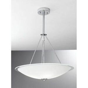Franklite 4 Light Circular Glass Ceiling Pendant